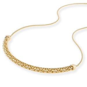 Kendra Scott Lucy Necklace Gold NWT